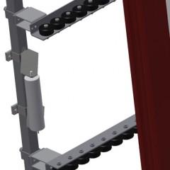 VR 4000 F - Vertical roller conveyor Additional mini-roller conveyors Elumatec