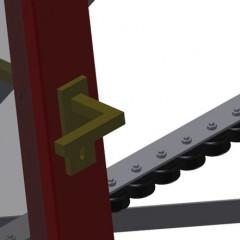 VR 4000 F - Vertical roller conveyor Mini-roller conveyor Elumatec