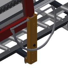 VR 4000 F - Vertical roller conveyor Grip Elumatec