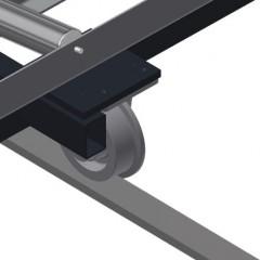 VR 4000 F - Vertical roller conveyor Rails Elumatec