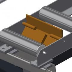 VR 4000 F - Vertical roller conveyor End stop Elumatec