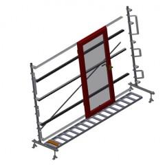 VR 4003 - Vertical roller conveyor Vertical roller conveyor VR 4003 Elumatec