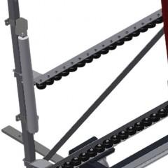VR 4003 F - Vertical roller conveyor Additional mini-roller conveyors Elumatec