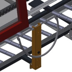 VR 4003 F - Vertical roller conveyor Grip Elumatec
