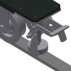 VR 4003 F - Vertical roller conveyor Mobility unit Elumatec