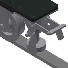 VR 4003 F - Vertical roller conveyor Rails Elumatec