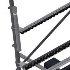 VR 4003 F - Vertical roller conveyor Lead-in rollers Elumatec