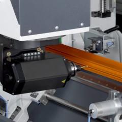 Centros de mecanizado de barras SBZ 122/73 Centro de mecanizado de barras Ajuste angular del eje A Elumatec