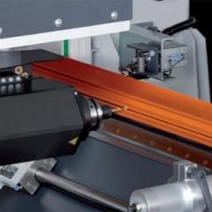 Profile machining centers SBZ 122/73 Profile machining centre A-axis angle adjustment Elumatec