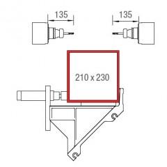 Centres d'usinage de barres SBZ 122/73 Centre d'usinage de barres Zone d'usinage axes Y et Z Elumatec