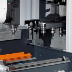 Stabbearbeitungszentren SBZ 122/73 Stabbearbeitungszentrum Werkzeugmagazin Elumatec