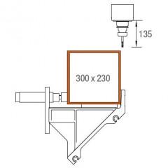 Centros de mecanizado de barras SBZ 122/74 Centro de mecanizado de barras Área de mecanización ejes Y y Z Elumatec