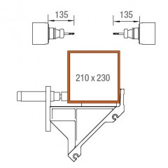 Centres d'usinage de barres SBZ 122/74 Centre d'usinage de barres Zone d'usinage axes Y et Z Elumatec