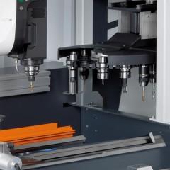 Profile machining centers SBZ 122/74 Profile machining centre Tool magazine Elumatec