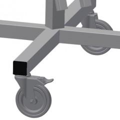 DW 2 Gasket trolley Casters Elumatec