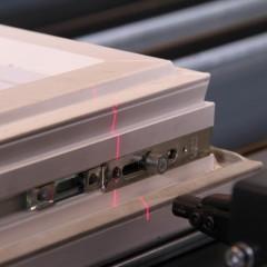 FAZ 2800/60 Sash assembly centre Laser unit (option) Elumatec