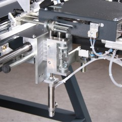FAZ 2800/60 Sash assembly centre Screwing unit with mouthpiece with manual insertion funnel (option) Elumatec