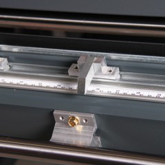 FAZ 2800 Sash assembly centre Folding stops (option) Elumatec