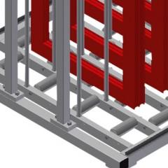 FFR 10 Sash rack Supports Elumatec