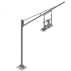 G 3000 Equipment holder Equipment holder G 3000 + Steel column S 3000 Elumatec