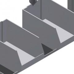 G 3000 Equipment holder Storage area Elumatec
