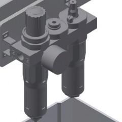 G 3000 Equipment holder Maintenance unit Elumatec