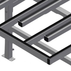 HD 3000 Lift and turn table Supporting surfaces Elumatec