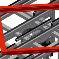 HD 3000 Lift and turn table Lift and turn mechanism Elumatec