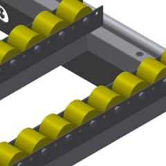HT 3000 E Horizontal table – Expansion Roller support, cmpl., for HT 3000/Alum. Elumatec