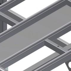HT 1000 E Horizontal table – Expansion Storage tray Elumatec