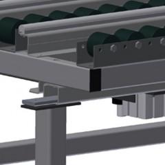 HT 1000 Horizontal table – Individual table Pneumatic lifting unit Elumatec