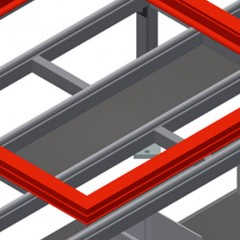 HT 2000 Horizontal table – Individual table Storage tray Elumatec
