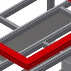 HT 2000 E Horizontal table – Expansion Storage tray Elumatec