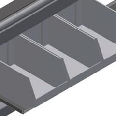 HT 2045 L Horizontal table – Left table, 45° Storage area Elumatec