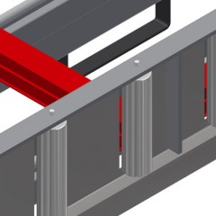 KT 3000 Tilting table Profile protectors for support rollers Elumatec