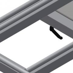 KT 4000 Tilting table Rubber strips Elumatec