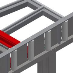 KT 4000 Tilting table Roller support Elumatec