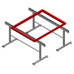 MB 2000 Assembly stands (1 pair) Assembly stands (1 pair) MB 2000 Elumatec