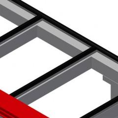 MST 2000 Sliding table Rubber strips Elumatec