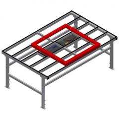 MST 2000 Sliding table Sliding table MST 2000 Elumatec