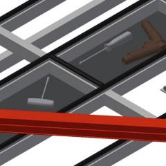 MST 3000 Sliding table Storage tray Elumatec