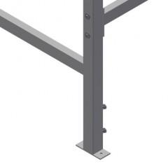 MST 3000 Sliding table Height adjustment Elumatec