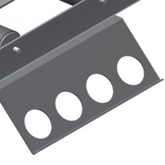 MS 4000 Assembly stand Holder plate for screw driving unit Elumatec