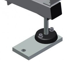 MS 4000 Assembly stand Height adjustment Elumatec