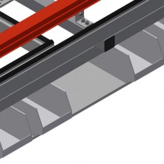 MTA 3000 Assembly table Storage area Elumatec