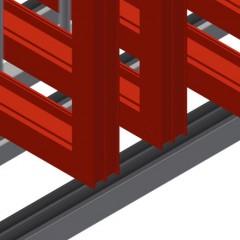 RFR 10/01 Frame rack Supports Elumatec