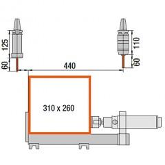 Profile machining centers SBZ 130 Profile machining centre Profile machining centre SBZ 130 eluCam Elumatec