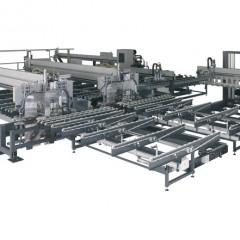 SBZ 620 Profile machining centre Profile machining centre SBZ 620 with automatic racking Elumatec