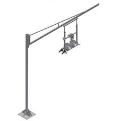 S 3000 Accessory steel column Equipment holder G 3000 + Steel column S 3000 Elumatec