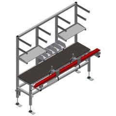 TMT 2000 Door bar assembly table Door bar assembly table TMT 2000 Elumatec